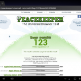 Go to http://peacekeeper.futuremark.com/ and test the browser speed. The score is 123 which is the lowest rank. Its browser speed is much slower than any smartphone and even slower than the game console such as Xbox or PS/3.   A netbook is slower than a s