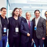 With Bloomberg