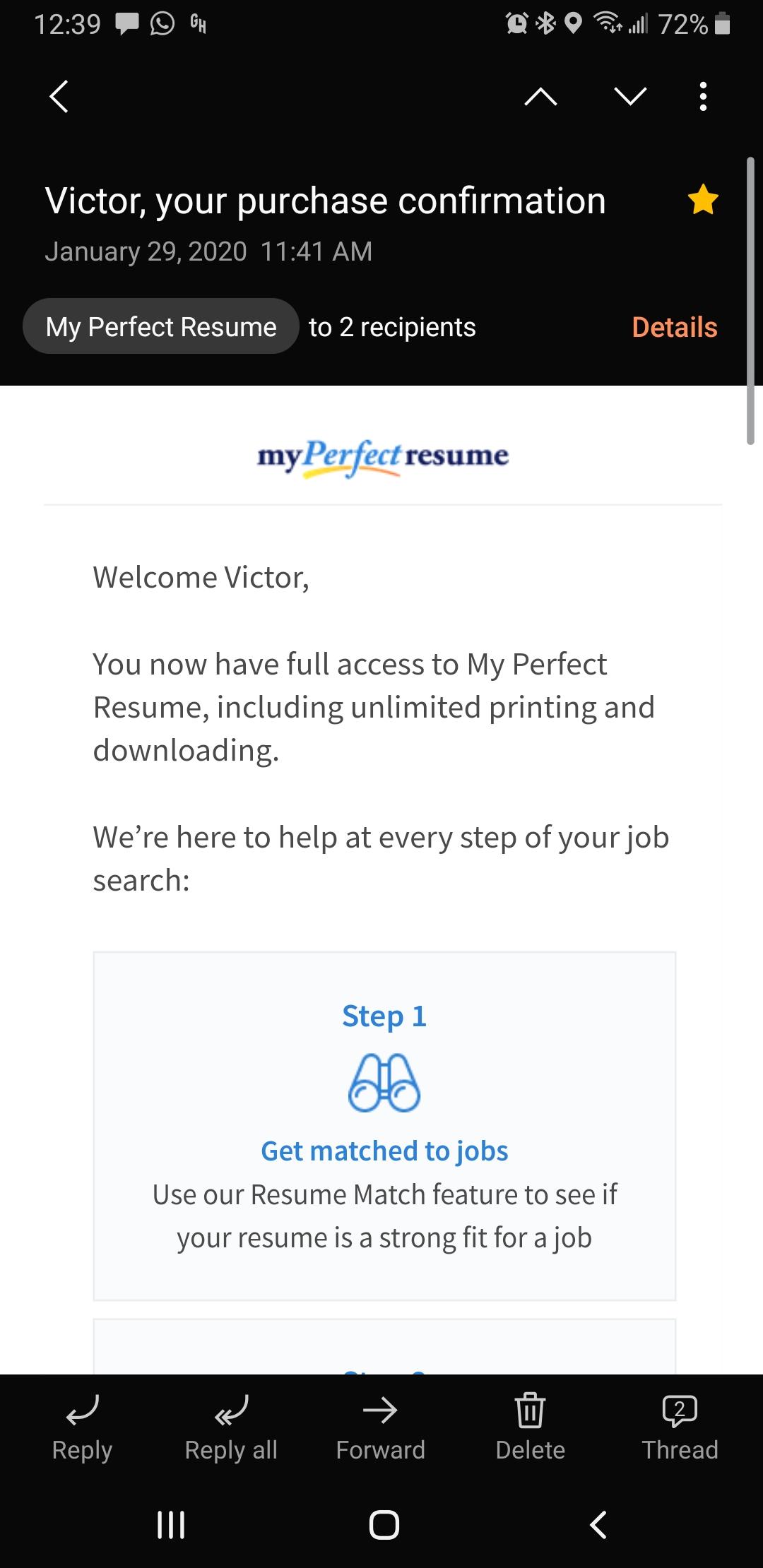 myperfectresume reviews