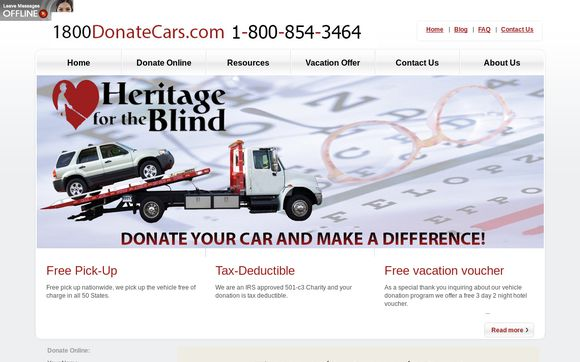 Heritage for the Blind of Orlando FL