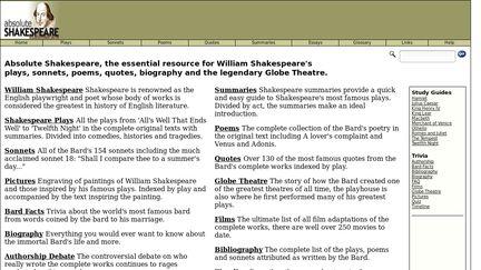 Absolute Shakespeare