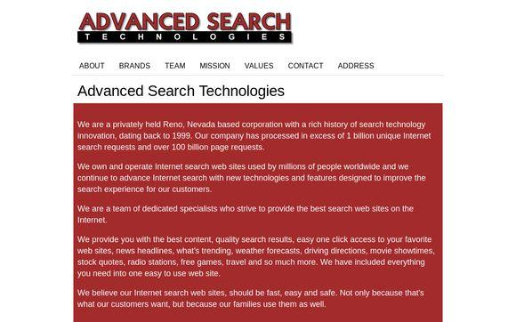 Advanced Search Technologies  Inc.