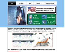 American Consumer Niche Marketing svc