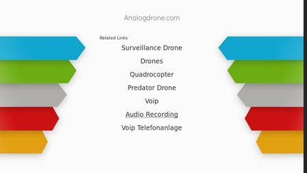 Analog Drone
