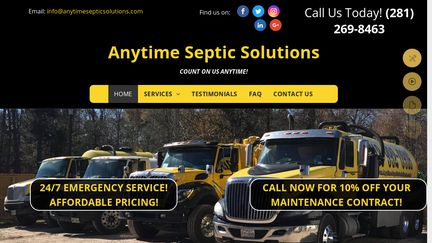 Anytime Septic Solutions