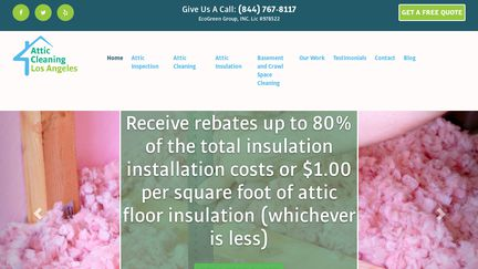 Attic Cleaning Los Angeles