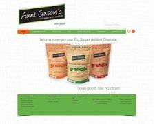 Aunt Gussie's Best Sugar Free Cookies