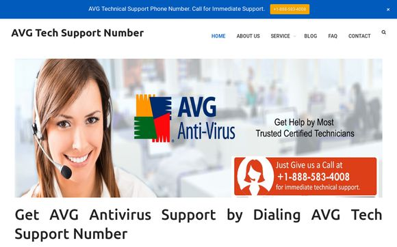 AVG Tech Support Number +1