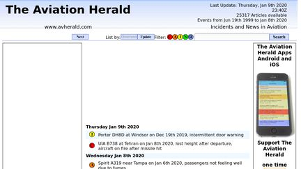 The Aviation Herald