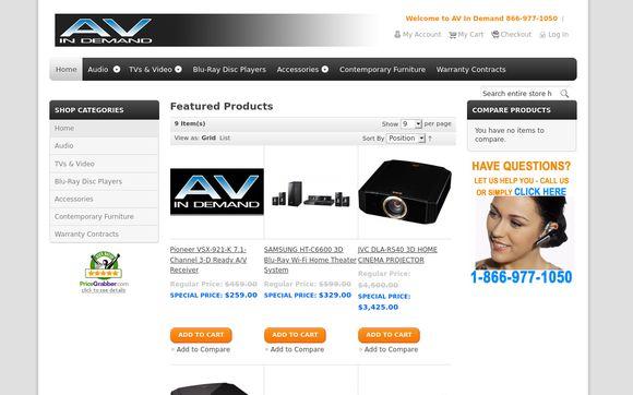 AV In Demand