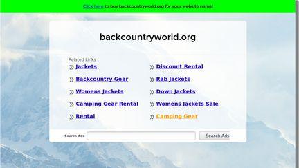 BackCountryWorld.org
