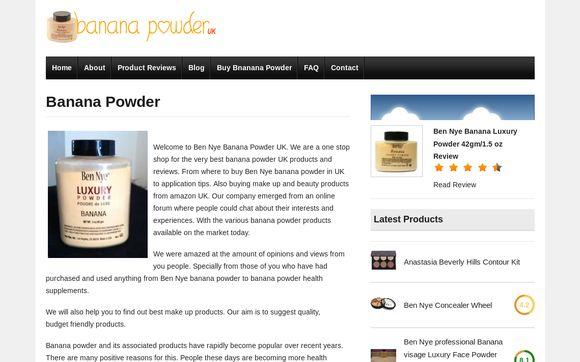 Bananapowder.co.uk