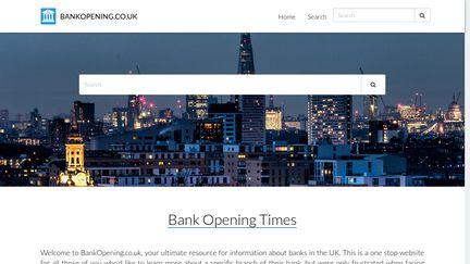 Bankopening