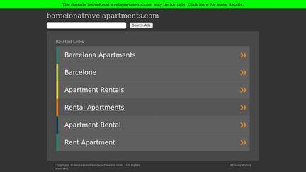 BarcelonaTravelApartments