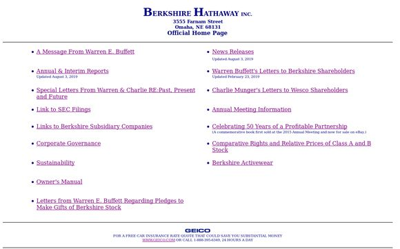 Berkshire Hathaway*