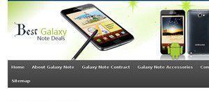 Bestgalaxynotedeals.co.uk