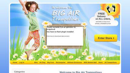 Big Air Trampolines