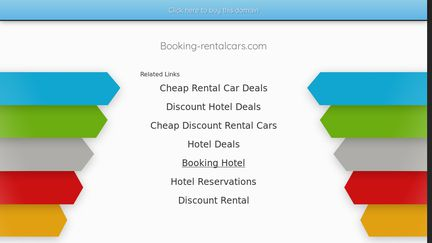 Booking-rentalcars