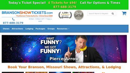 Bransonshowtickets.com