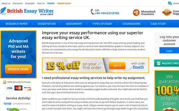 British Essay Writer