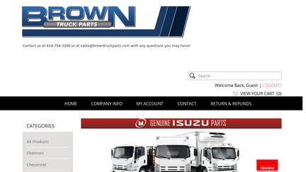 Brown Truck Parts
