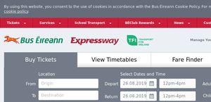 Bus Éireann Reviews - 1 Review of Buseireann ie | Sitejabber