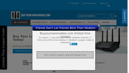 Buy Your Own Modem