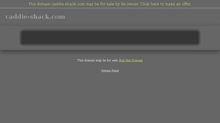 Caddie-shack.com