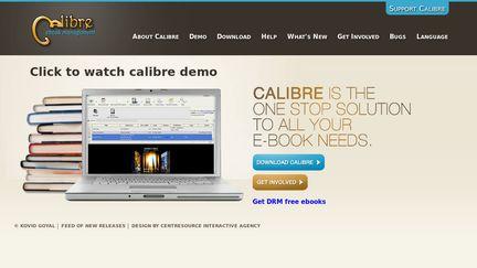 calibre - E-book management