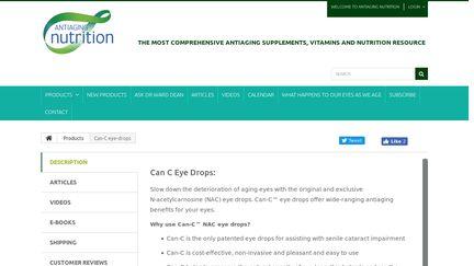 Can C Eye Drops