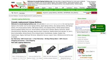 Canada-Laptop-Battery