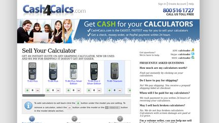 Cash4Calcs