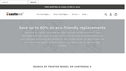 Castle Ink Cartridges