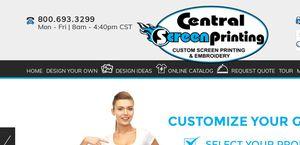 Centralscreenprinting.com