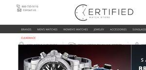 Certified Watch Store
