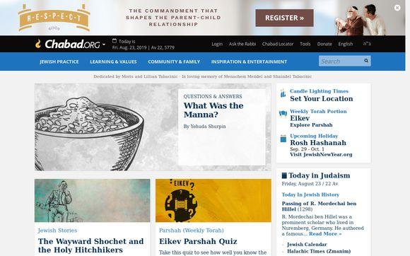 Chabad.org Jewish Apps