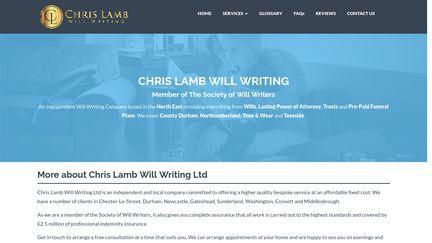 Chris Lamb Will Writing Ltd