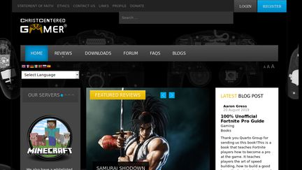 Christcenteredgamer.com
