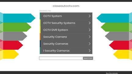 Closeoutcctv