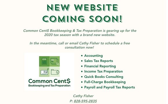 Common Cents Bookkeeping and Tax Preparation