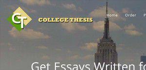 Collegethesis.biz