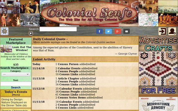 Colonial Sense