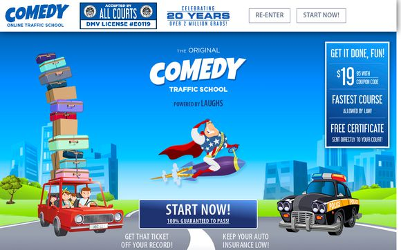 Comedy Traffic School