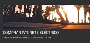 Comprar Patinete Electrico