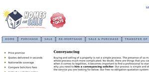 Conveyancing.homesonsale.co.uk