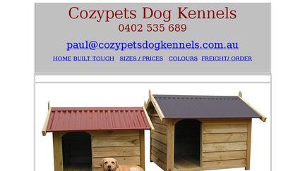 CozyPetsDogKennels.com.au