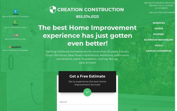 Creation Construction