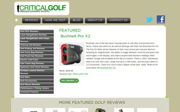 Critical Golf