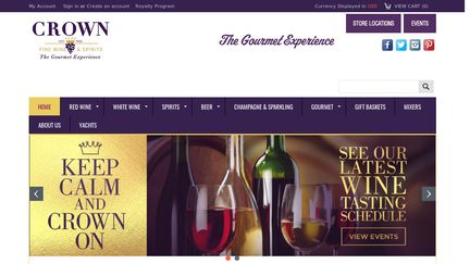 Crown Wine & Spirits