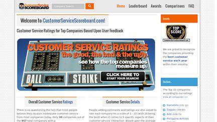 CustomerServiceScoreboard